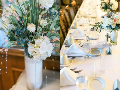 Wedding florals at Lakeville Weddings