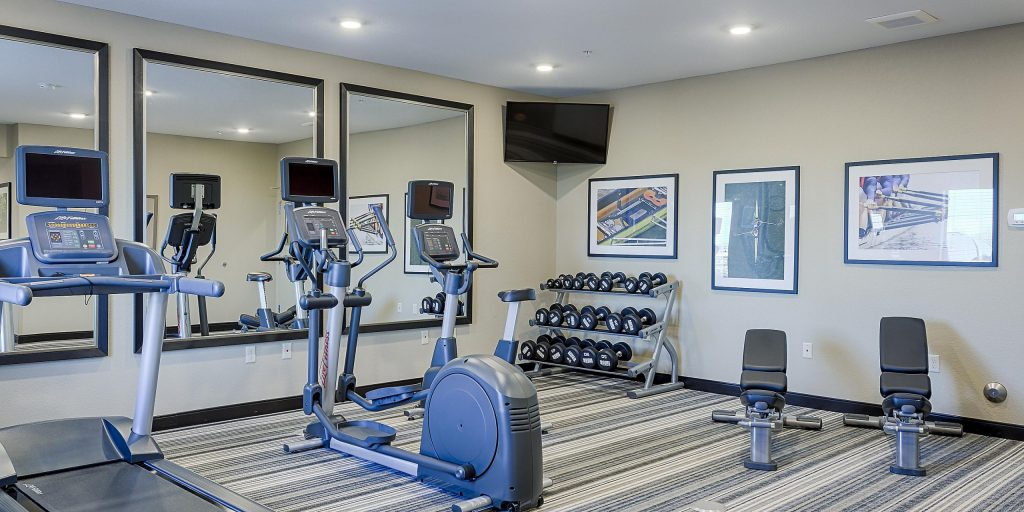 Candlewood Suites Workout Room at Lakeville Weddings