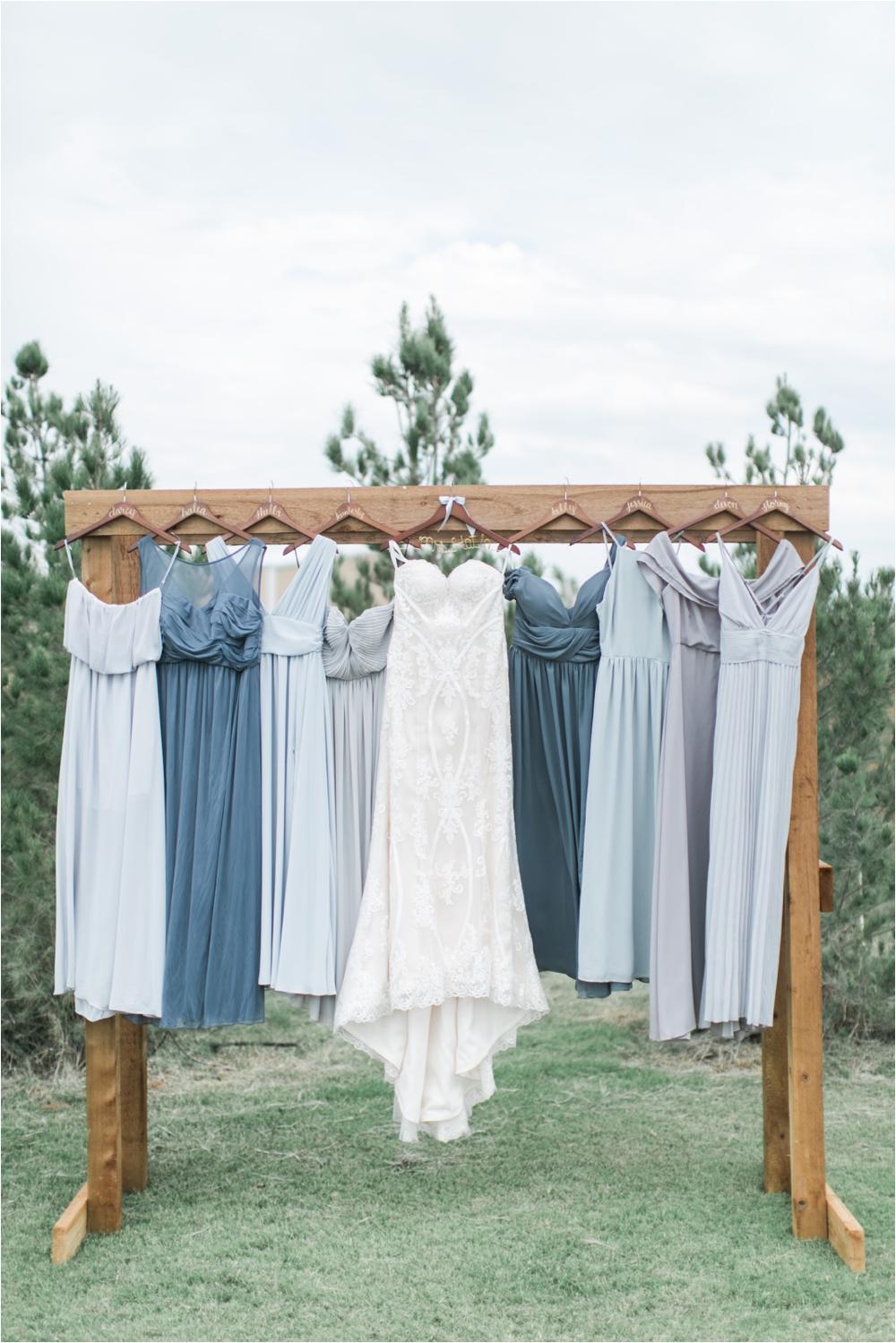 mismatching bridesmaid dresses lubbock weddings
