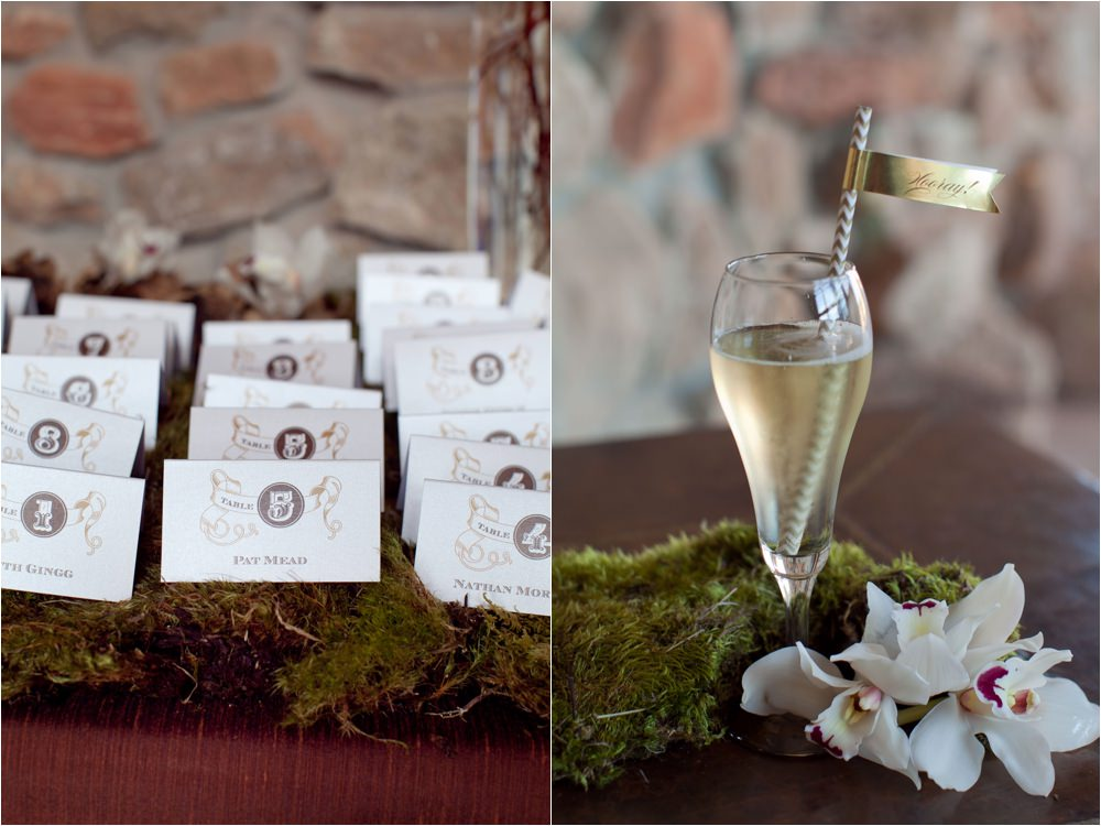 charming rustic chic wedding details by parie designs