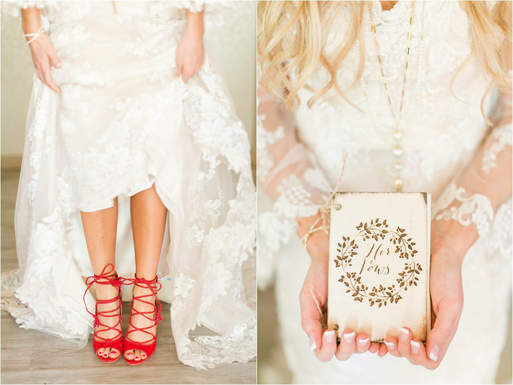 red wedding shoes west texas weddings
