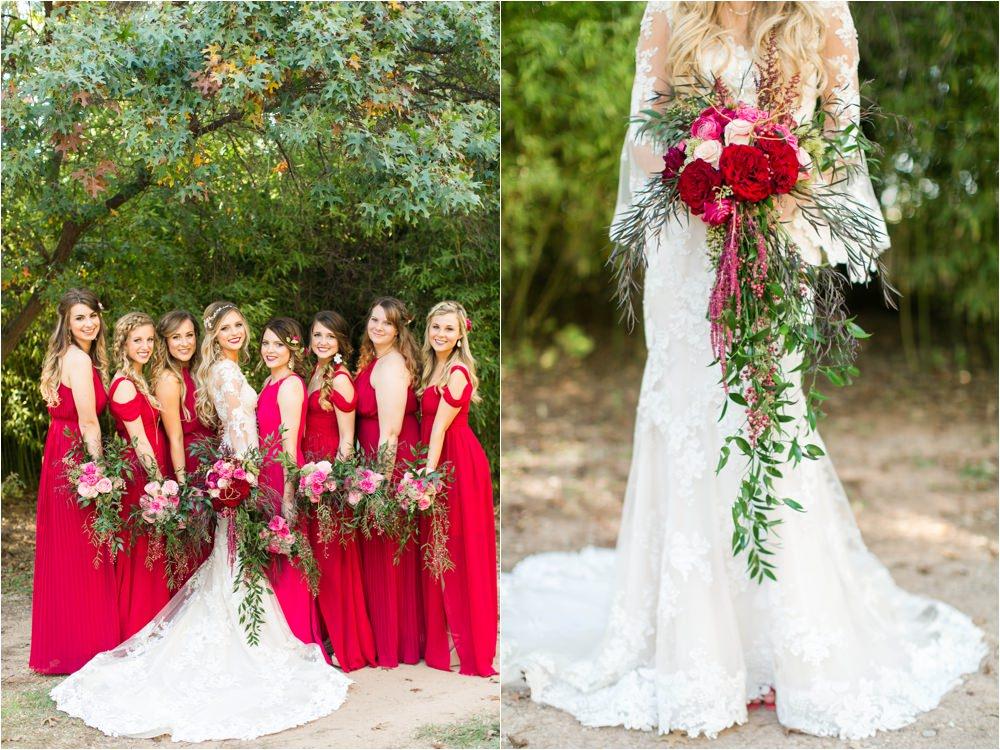 weddings of west texas bold wedding decor