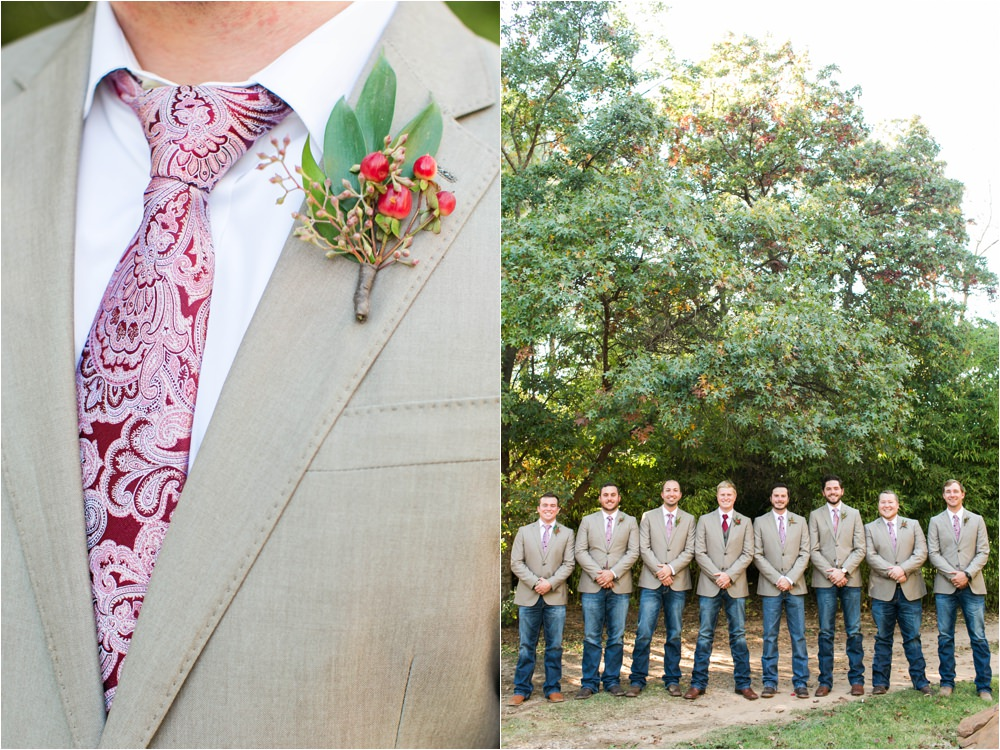 rustic groomsmen details weddings of west texas