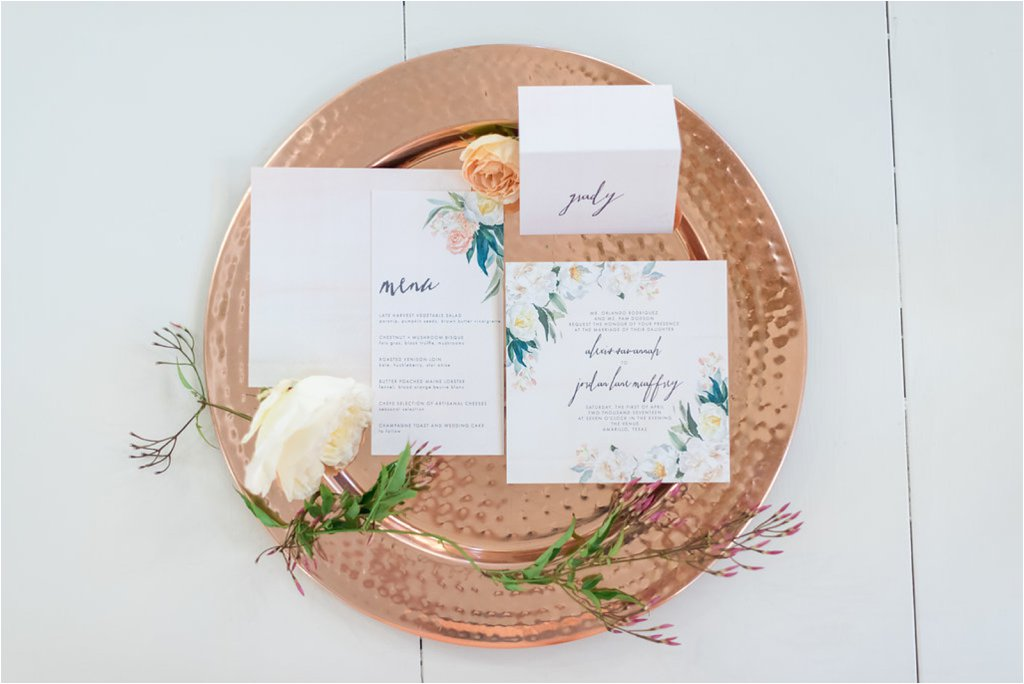 wedding invitations by hatched studio amarillo weddings of west texas