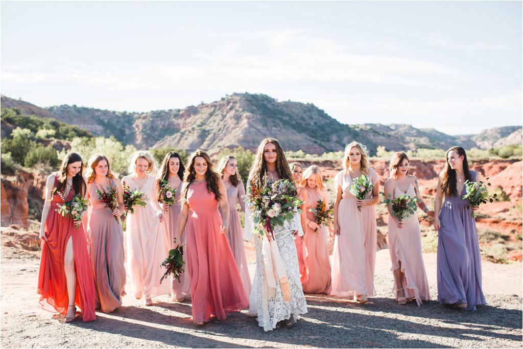 intimate palo duro canyon wedding by kayla smith photography