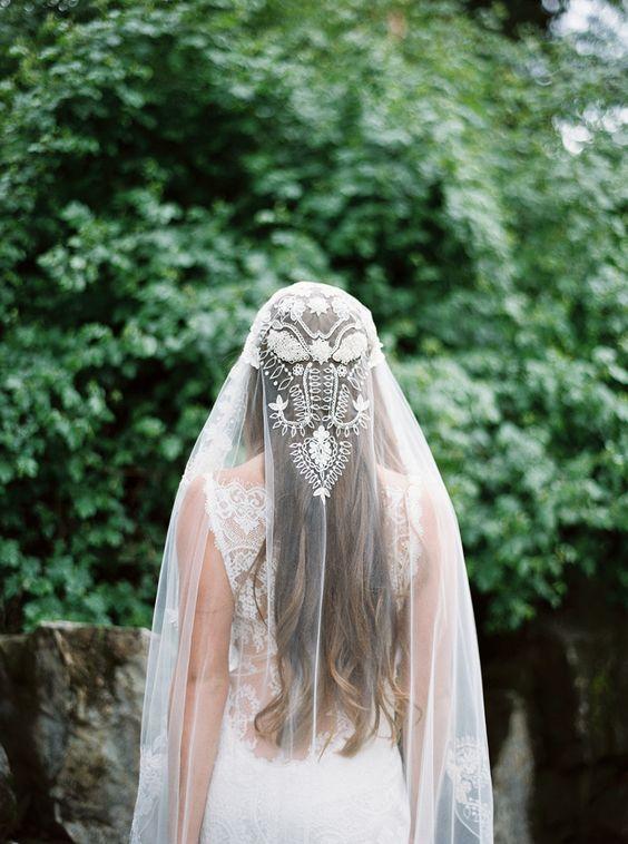 An Elegant, Enchanted Forest Wedding Theme Palette