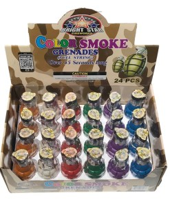 Pull String Smoke Grenades 24 Case