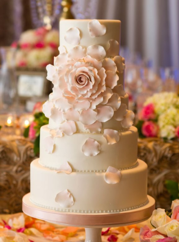Stylish Wedding Cakes Weddings Romantique