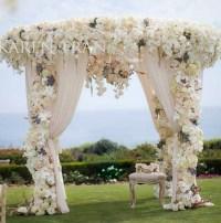 Indoor Wedding Ceremony Elegant Arch Decorations Archives ...