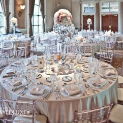 Cream Chair Covers For Weddings Ribbed Office Silver Wedding Theme Archives - Romantique
