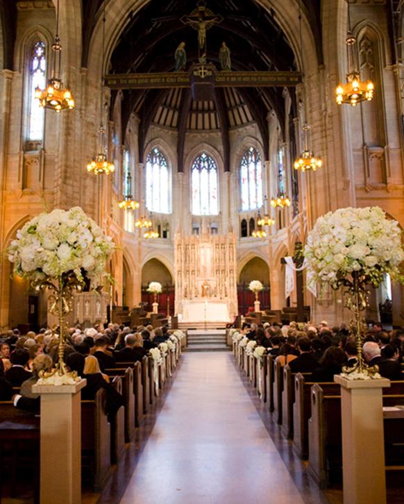 Church Wedding Decorations Ideas