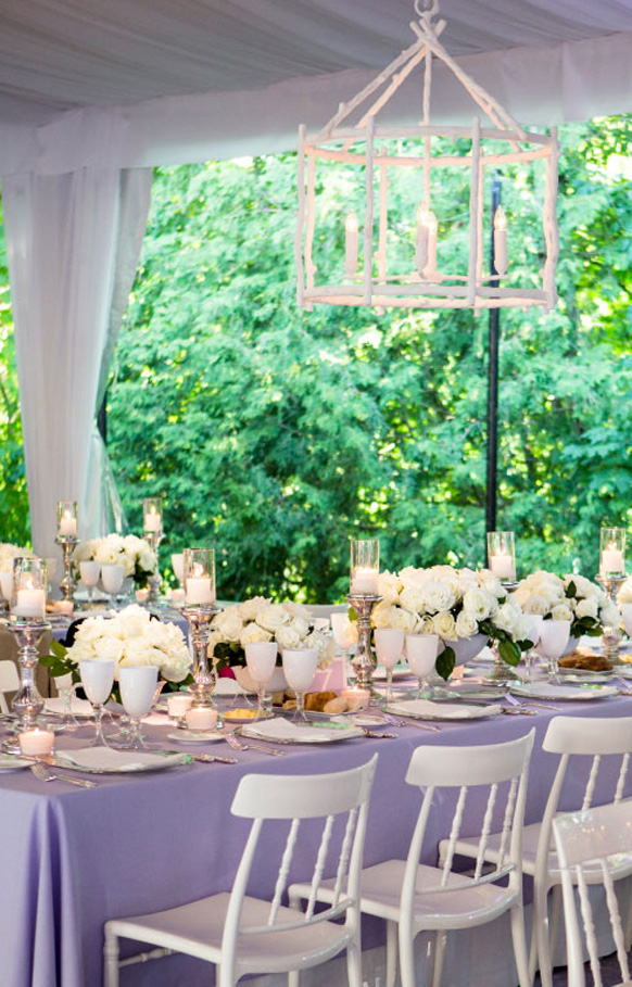 Wedding Reception Tablescapes  Weddings Romantique