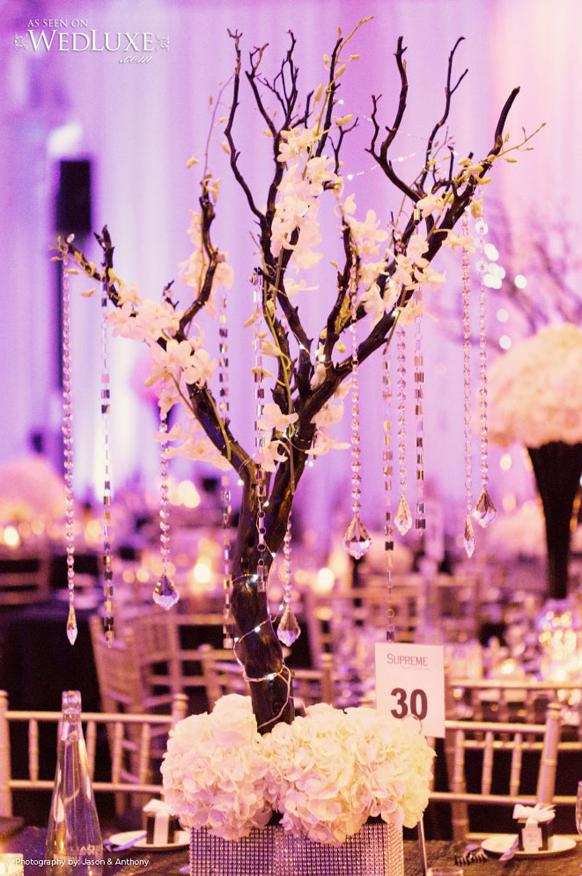 Tree Branch Wedding Centerpieces