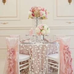 Chair Covers With Pink Bows Cover Hire Rotorua Stylish Wedding Decorations - Weddings Romantique
