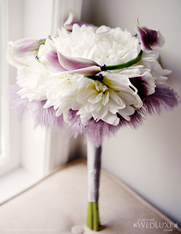 luxury Lavender wedding bouquet