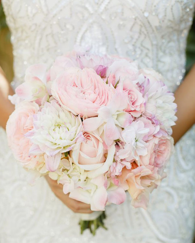 Blush Pink Wedding  Bouquet _Allyson Wiley Photography