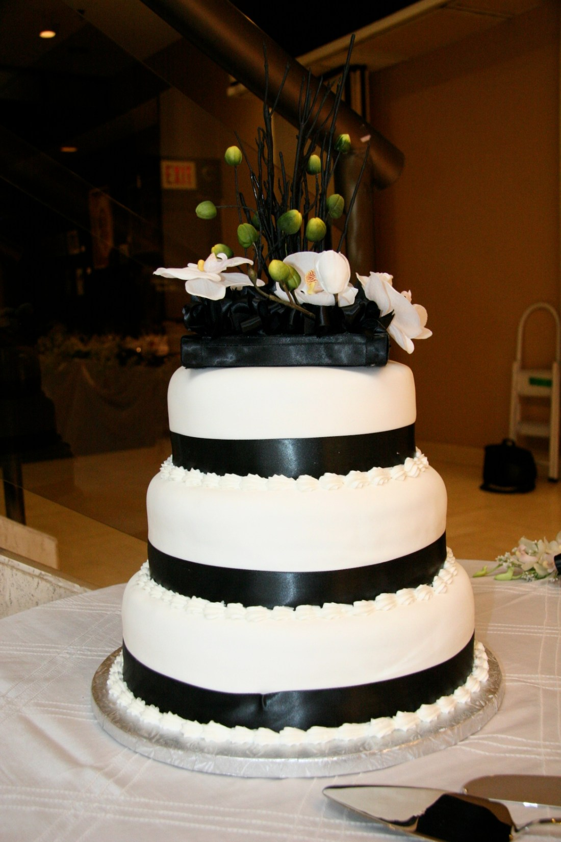 Top Wedding Cake - Black cake