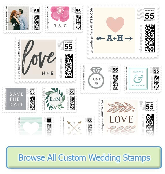 usps wedding stamps rates