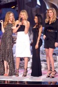 Leslie Mann, Cameron Diaz - in a Stella McCartney dress and Isabel Marant heels - Nicki Minaj and Kate Upton