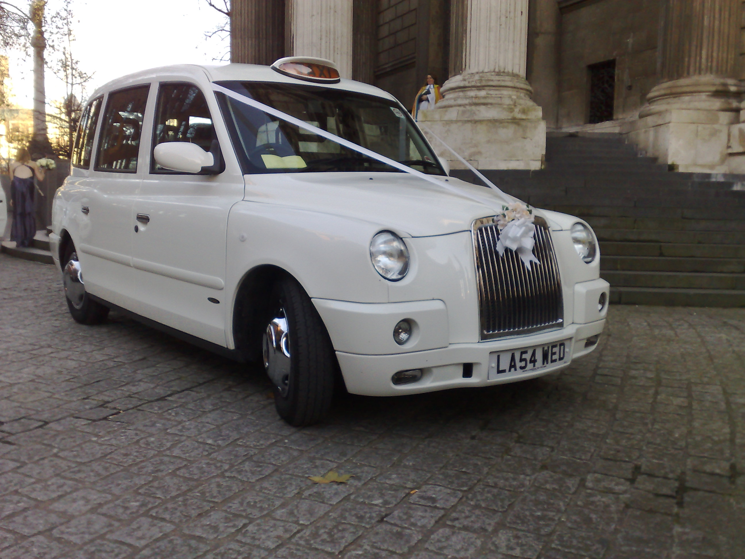 Wedding Taxis  View all of our White Taxis Black Taxis Vintage Taxis  Coloured Taxis