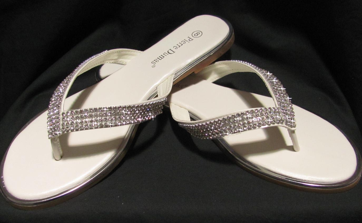 Bridal Flip Flops Comfortable Wedding Shoes