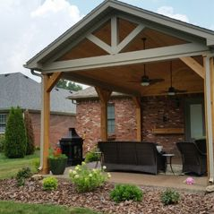 custom covered porch