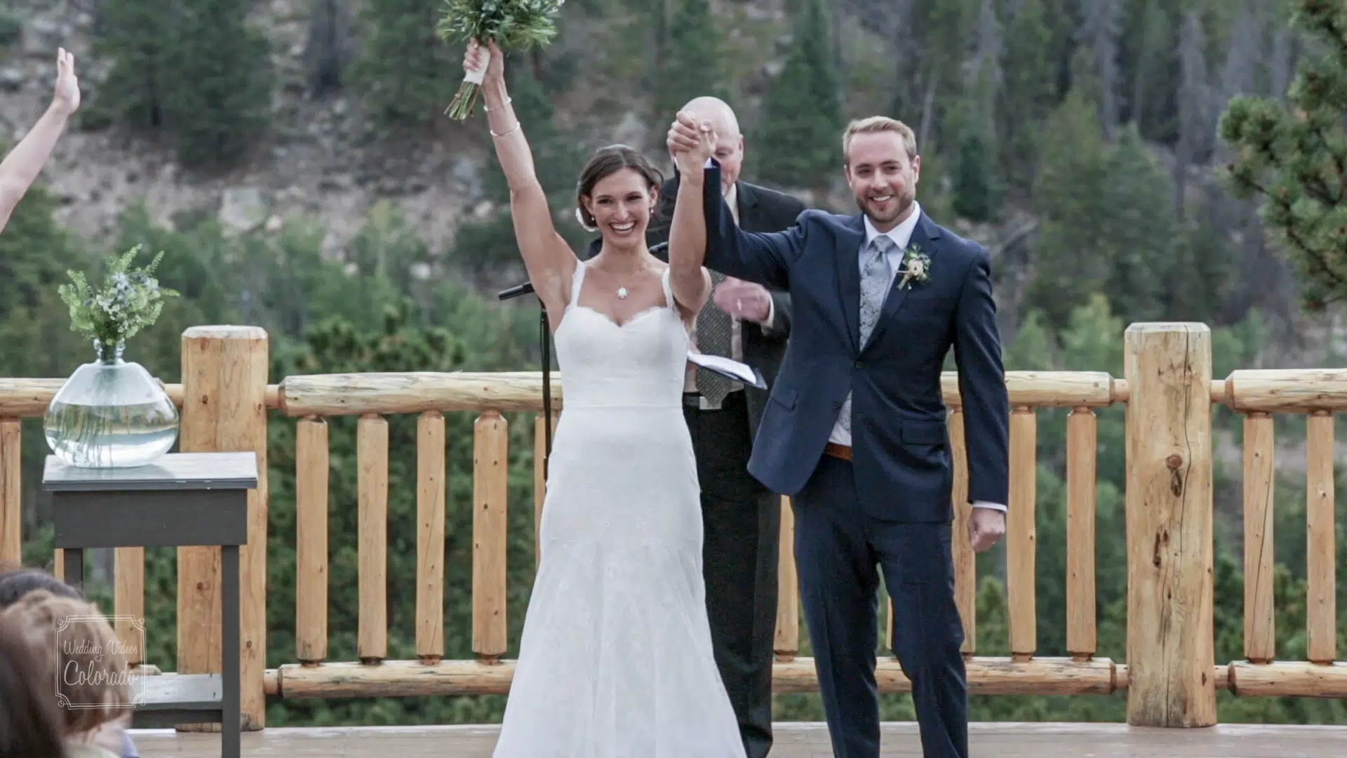 YMCA of the rockies wedding