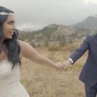 Jason & Carlee at Taharaa Mountain Lodge, Estes Park