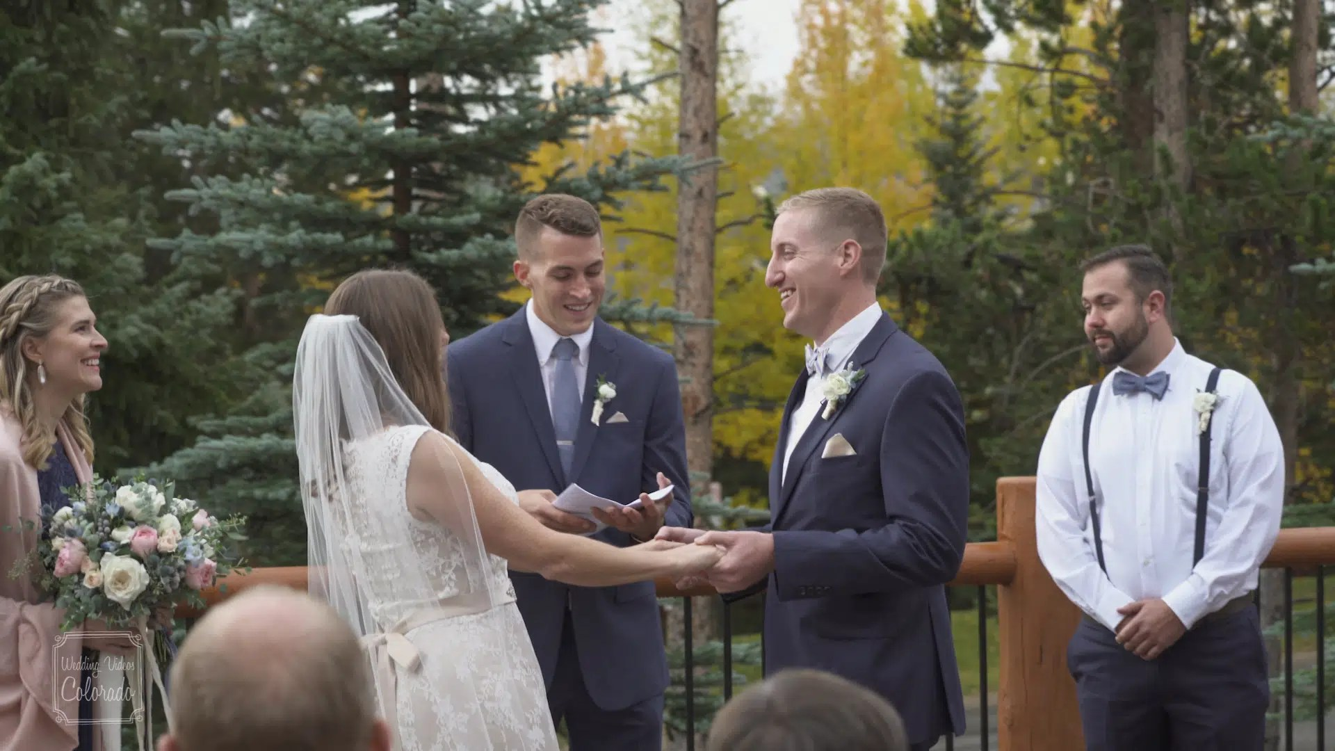 Brock Amber Wedding Still Blue Sky Breckenridge Colorado