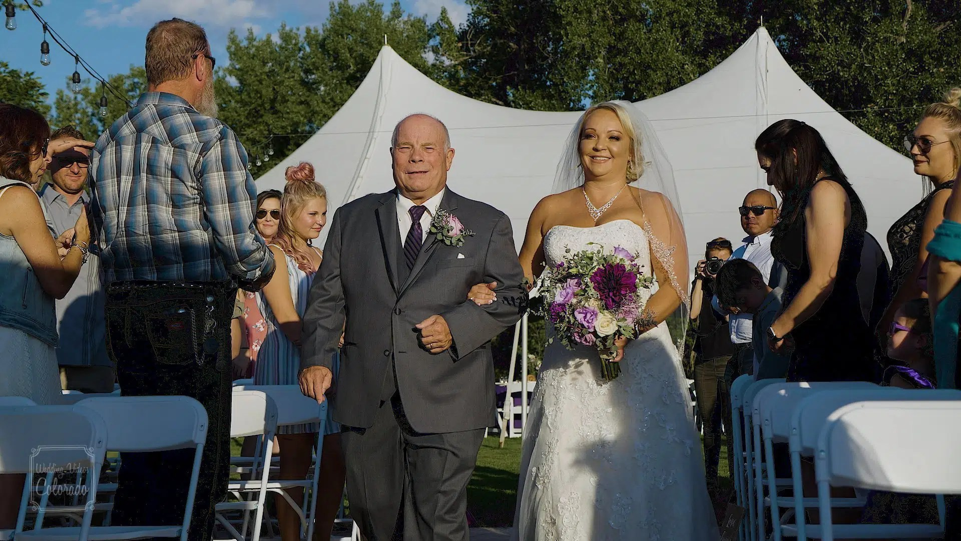 kathy brandon river garden winery wedding video