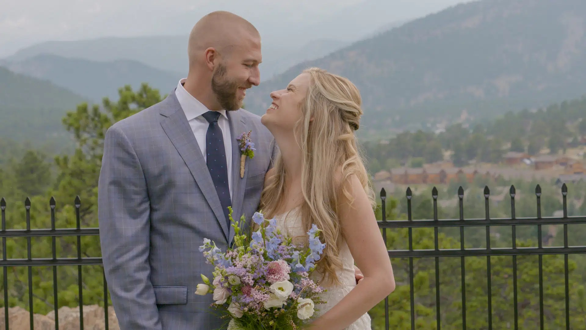 Maddie & Rob Wedding in Estes Park, CO