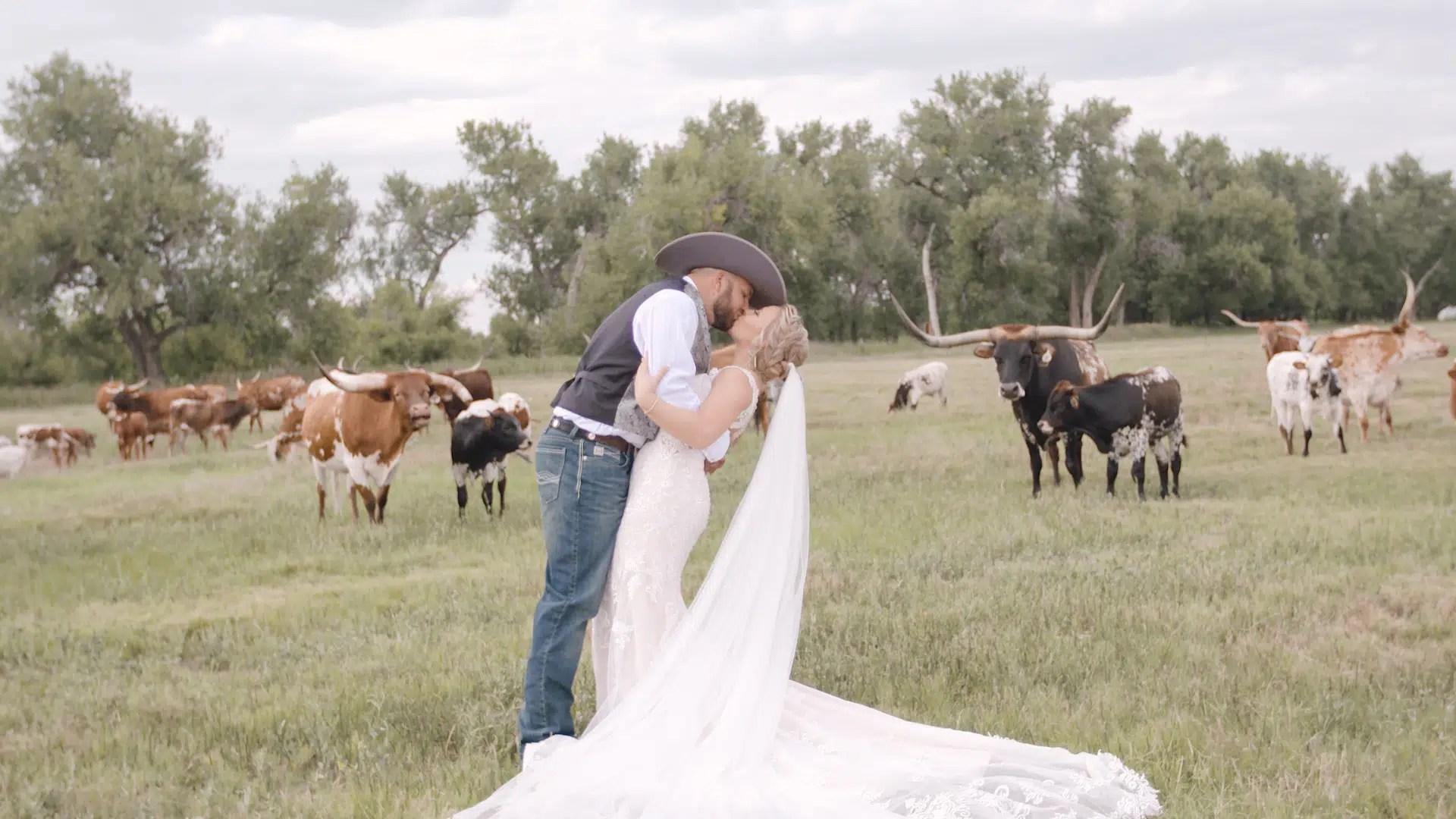 platte river fort wedding videographer