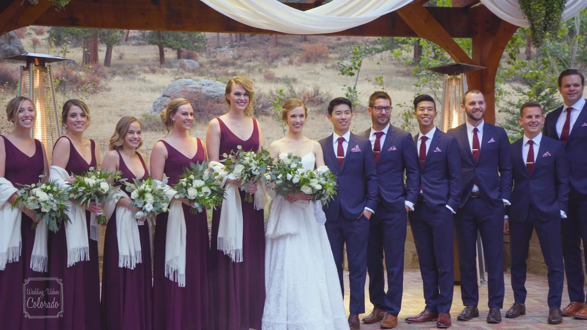 della terra mountain chateau wedding video