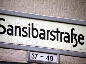 Die Straßennamen im Afrikanischen Viertel sind in Berlin einmalig