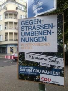 CDU-Plakat