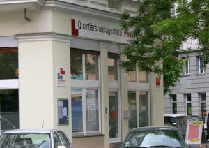 Das Büros das QMs Pankstraße