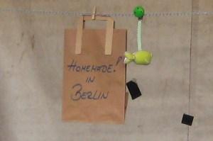 homemade in berlin im Flohmarkt am Mauerpark