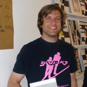 """David Armengou it Inhaber von """"Echo Bücher"""". Foto: Eißmann"""