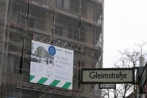Richtfest Gleimstraße Ecke Graunstraße - Foto: Andrei Schnell