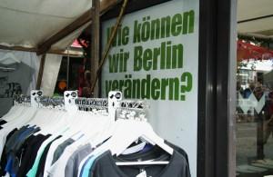 """Das war einmal: Beim Modefestival """"Wedding Dress"""" in der Brunnenstraße. Foto: Hensel"""