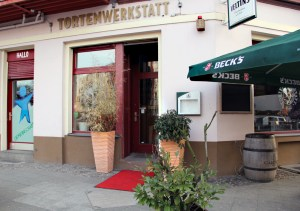 Die Tortenwerkstatt in der Gleimstraße Ecke Graunstraße. Foto: Hensel