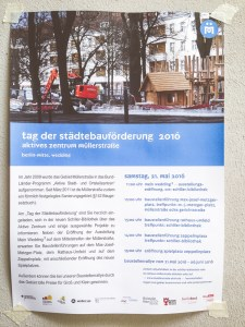 Tag der Städtebauförderung Programmflyer Brüsseler Kiez