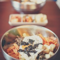 "Das koreanische Restaurant ""Sam Yuk Gu"""
