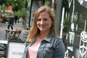 Direktkandidatin Katharina Becker (CDU). Foto Andrei Schnell