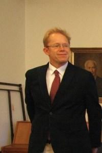 Stand am 18. September nicht zur Wahl, ist nun Stadtrat. Ephraim Gothe. Foto Andrei Schnell.