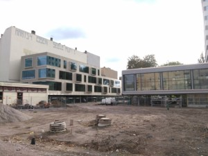 Baustelle, Schillerbibliothek, Foto: Joachim Faust
