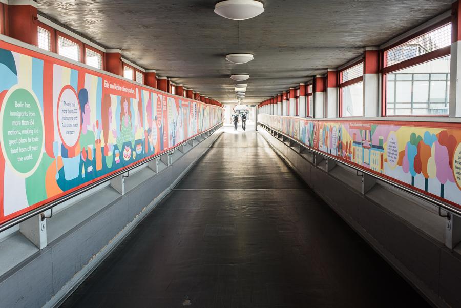 Gang zum Terminal C