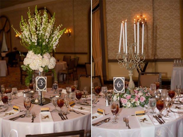 Wedding Reception Candles