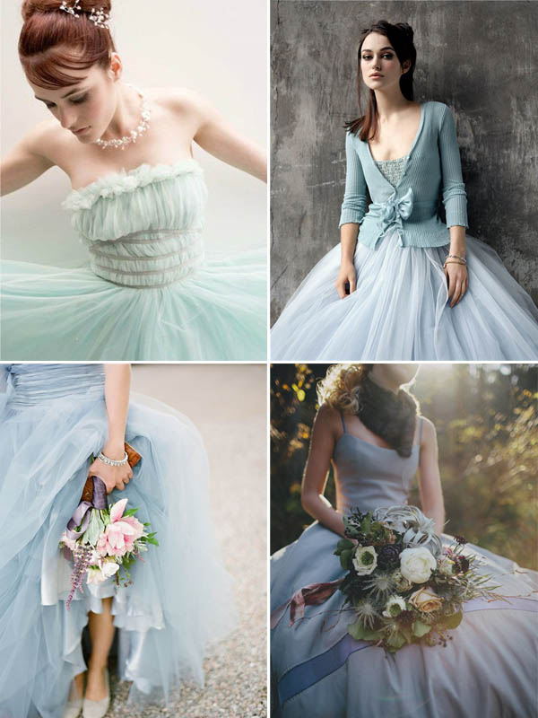 Decorazioni Vestiti {wedding By Color} Matrimonio In Blu | Wedding Wonderland