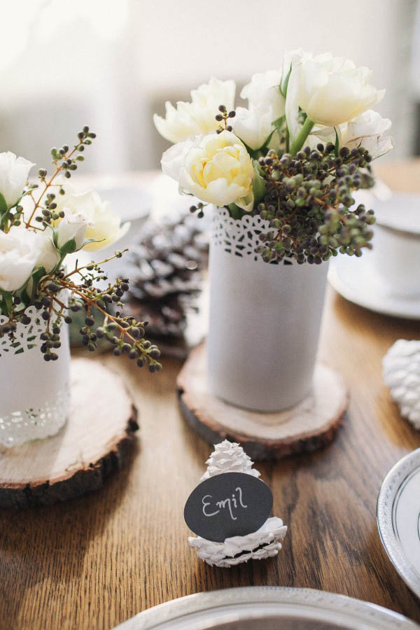 DIY Segnaposto fai da te  Wedding Wonderland